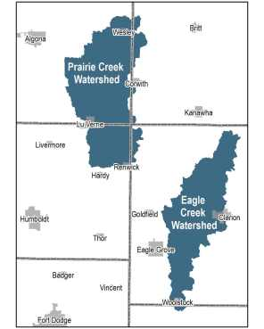 Water Quality Initiative Area in Boone River Watershed