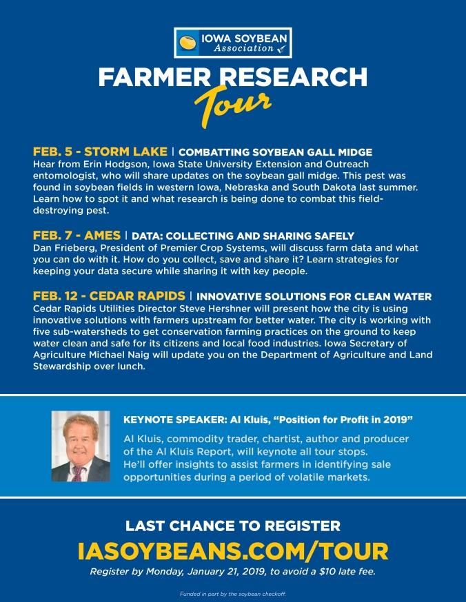farm research tour flier