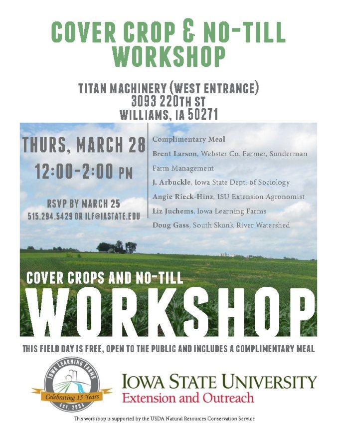 03-28-2019 Hamilton Co Cover Crop Workshop