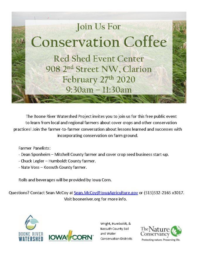 Conservation Coffee Invite Feb 27 2020